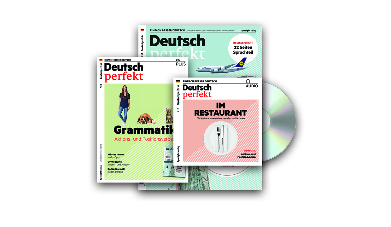 imparare il tedesco con deutsch perfekt. Black Bedroom Furniture Sets. Home Design Ideas