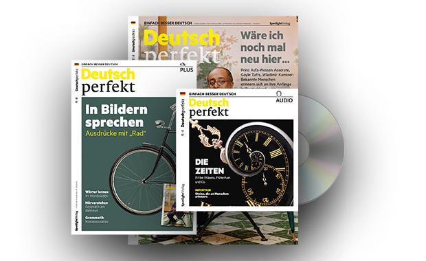 Imparare Il Tedesco Con Deutsch Perfekt