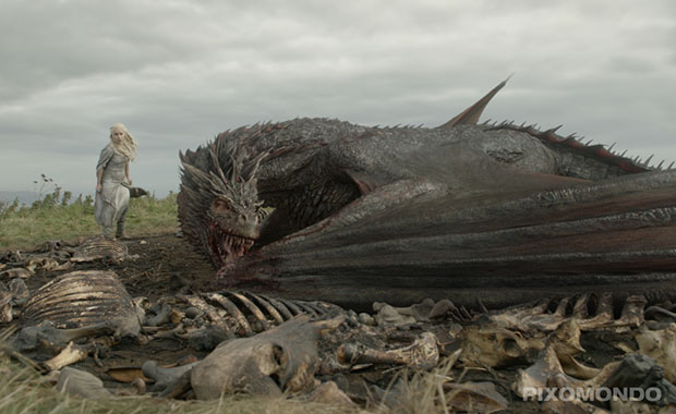 Games of Thrones: Drache