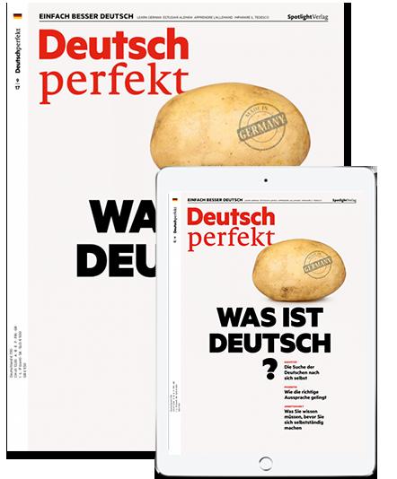 Magazine for learning German - deutsch perfekt sample screenshot