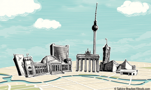 Illustration von Berlin